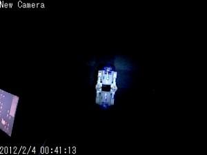 DC-NCR13Uで白LEDモードで撮影